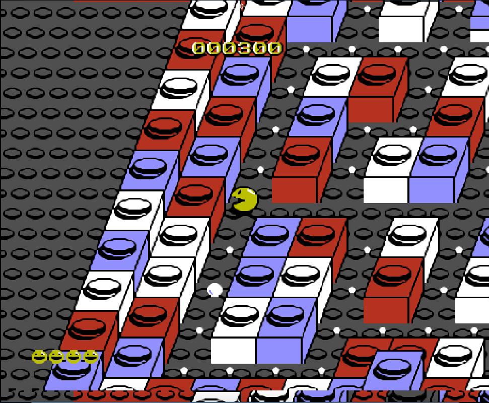 Game NES phần 14 Pac-Mania