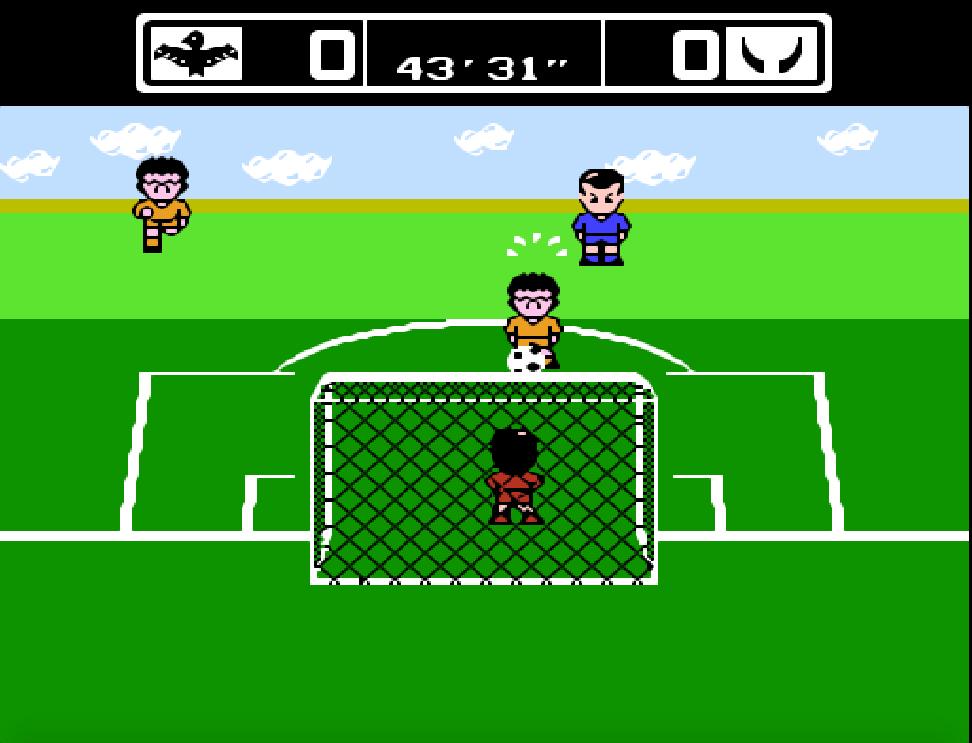 Game NES Power Soccer