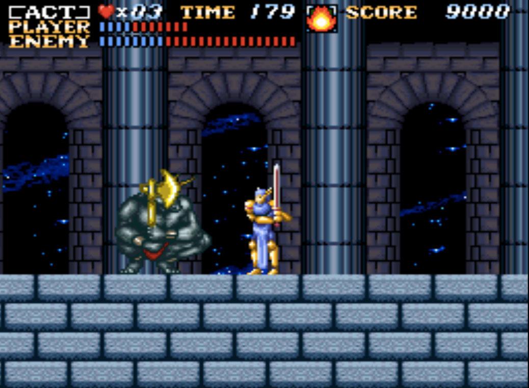 SNES game phần 1 ActRaiser