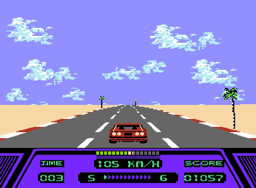 Game NES phần 15 Rad Racer
