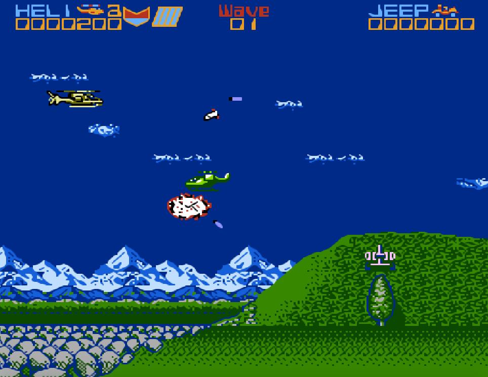 Game NES phần 16 Silkworm
