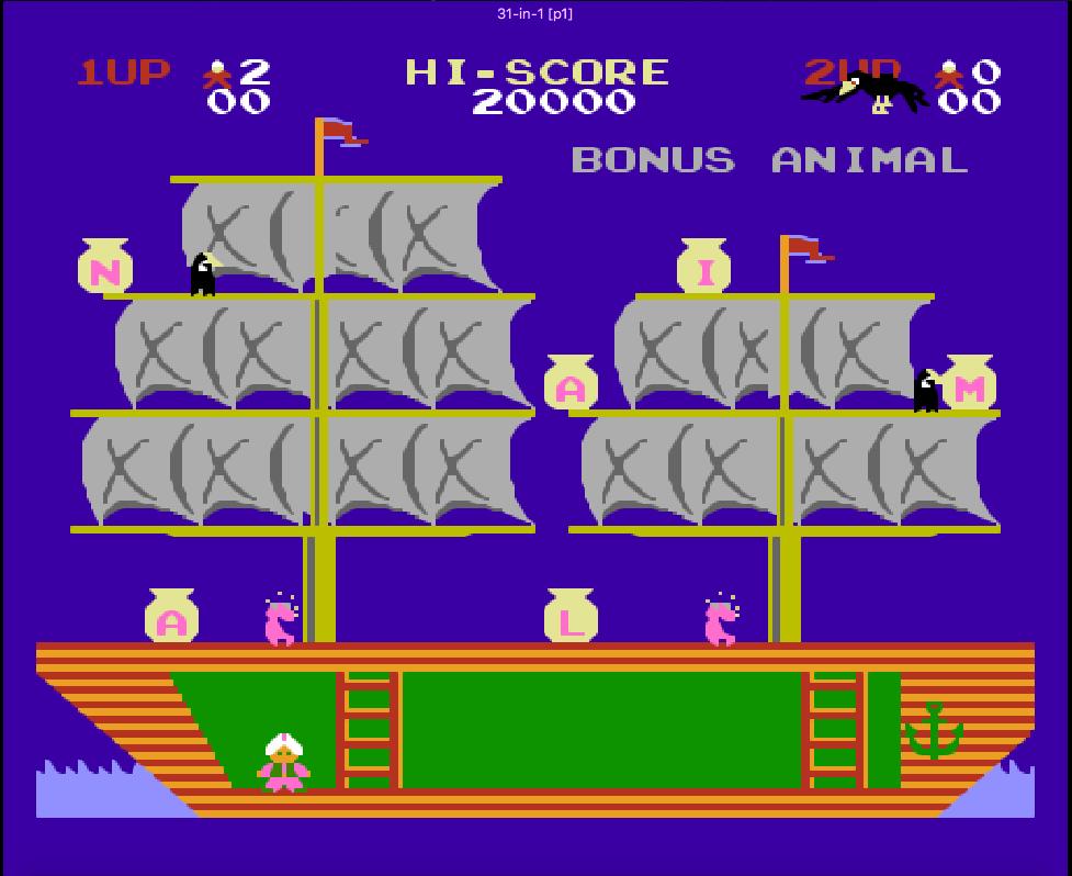 game 4 nút NES Super Arabian