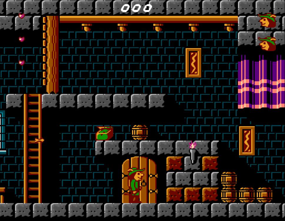 Game NES Super Robin Hood