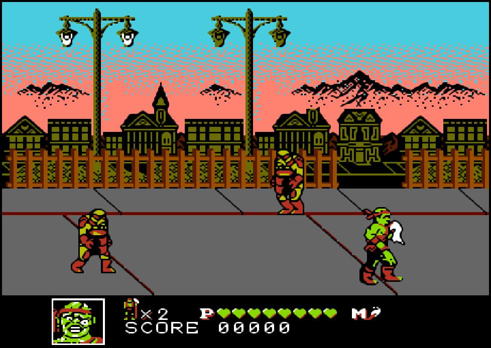 game NES phần 18 Toxic Crusaders
