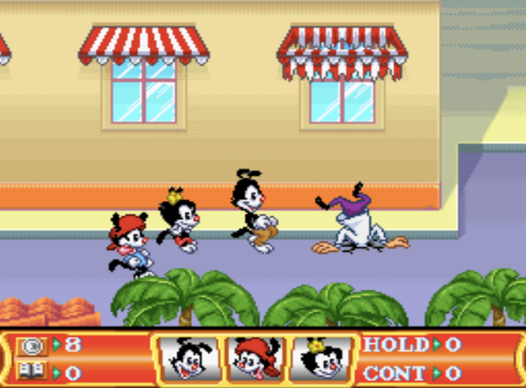 game SNES hay phần 2 Animaniacs