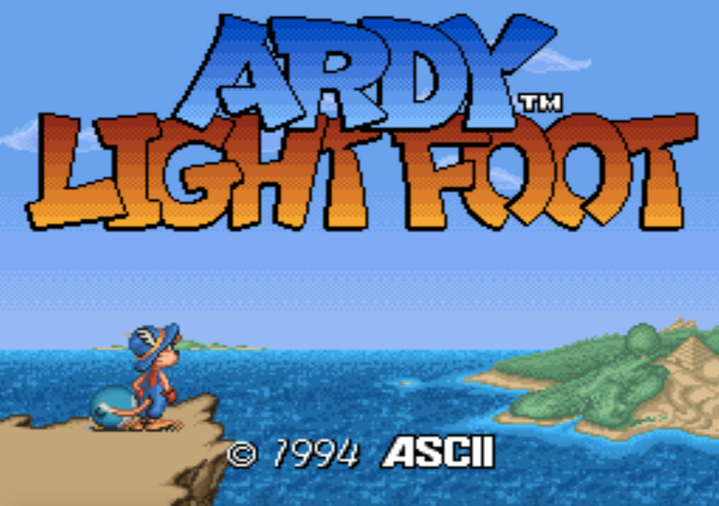 game SNES phần 2 Ardy Lightfoot
