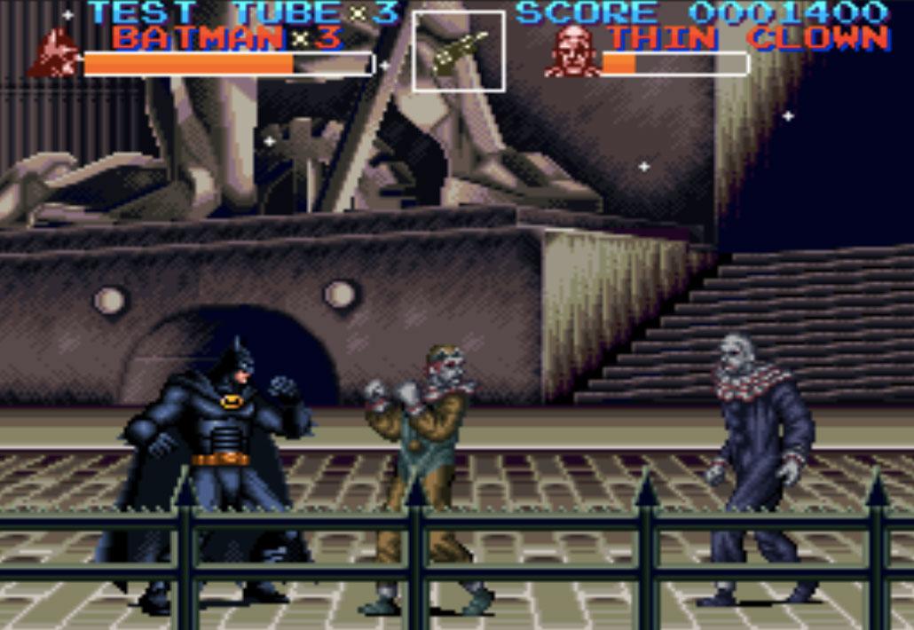 game SNES hay phần 3 Batman Returns