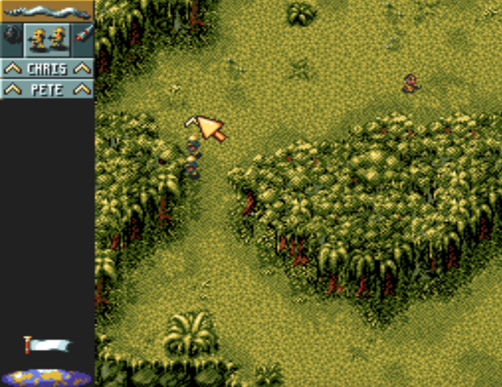 game SNES hay phần 5 Cannon Fodder