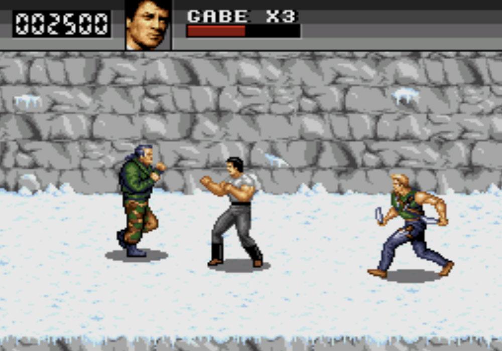game SNES hay phần 5 Cliffhanger