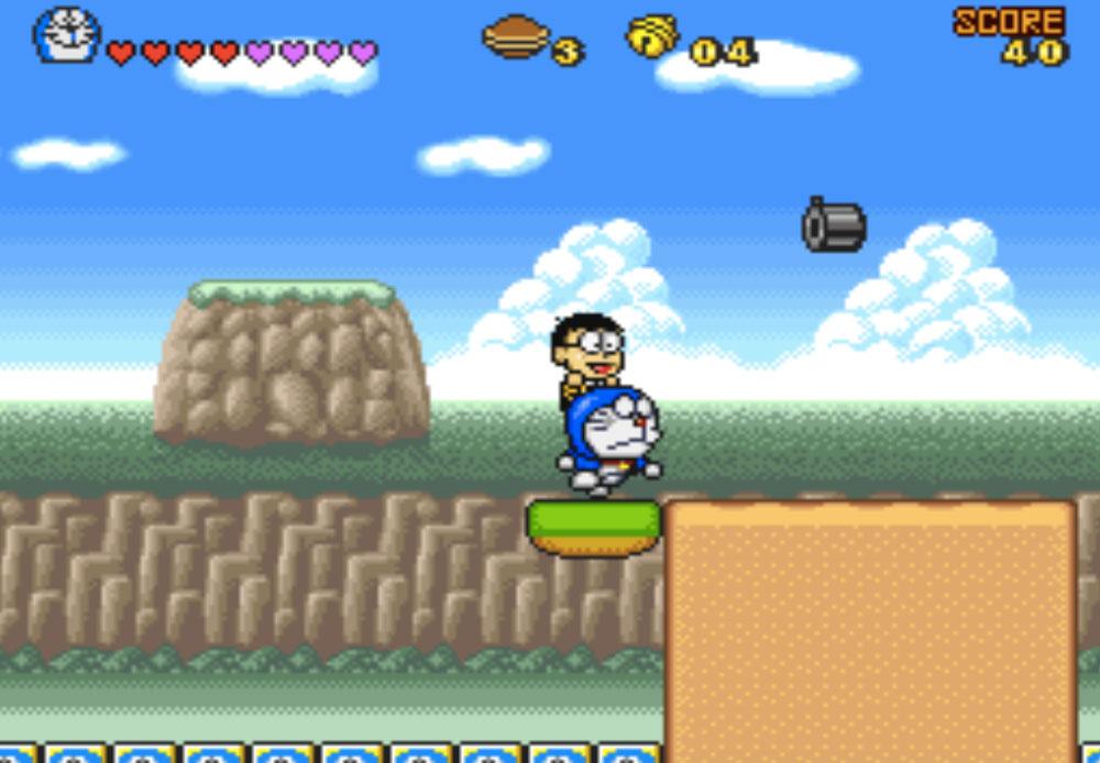 game SNES hay phần 8 Doraemon 4