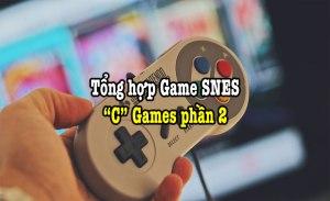 game SNES hay phần 6