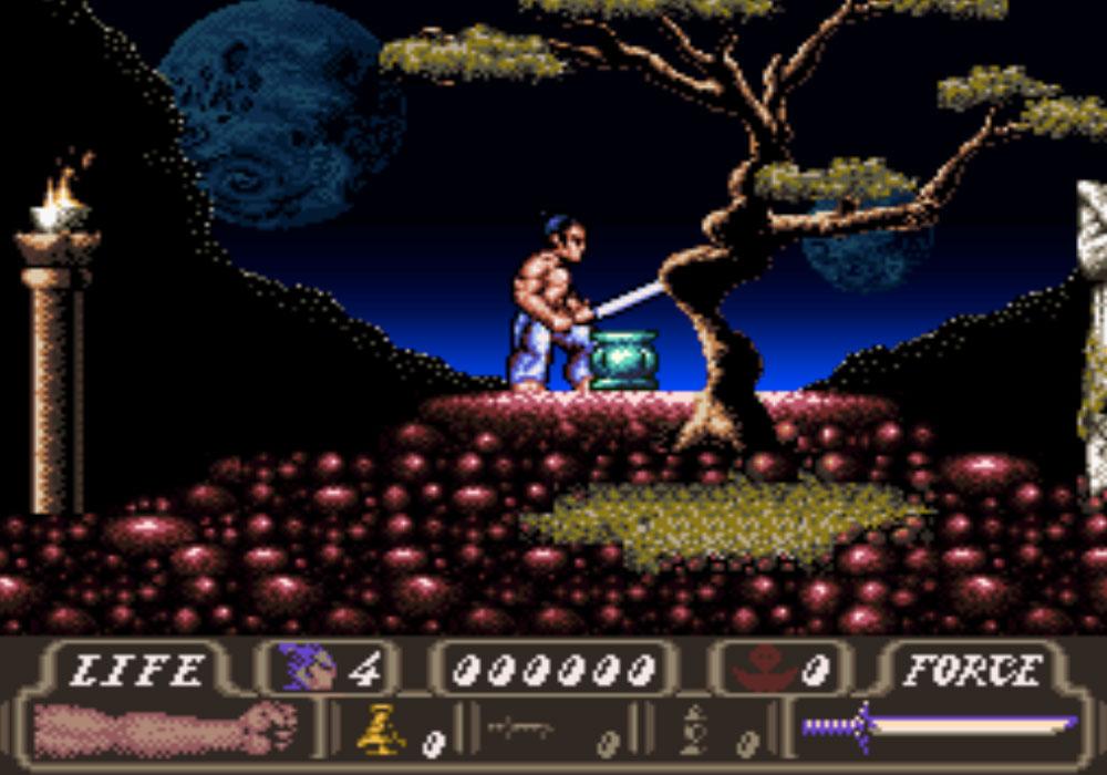 game snes hay phần 11 First Samurai