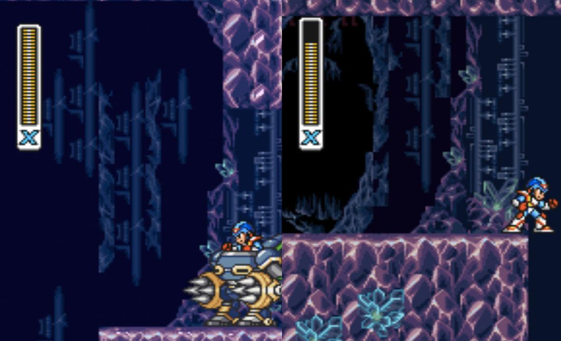 Crystal Nail Mega Man X2