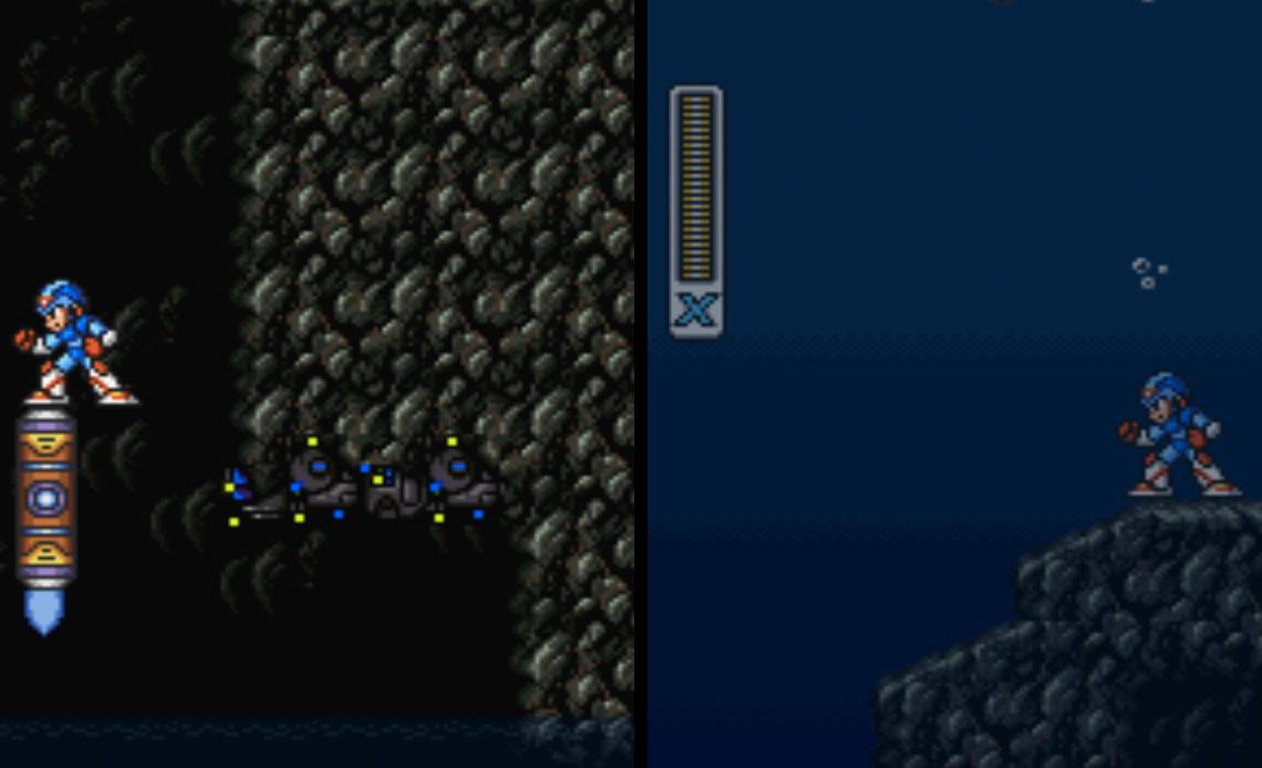 Deep Sea Base Stage Mega Man X2