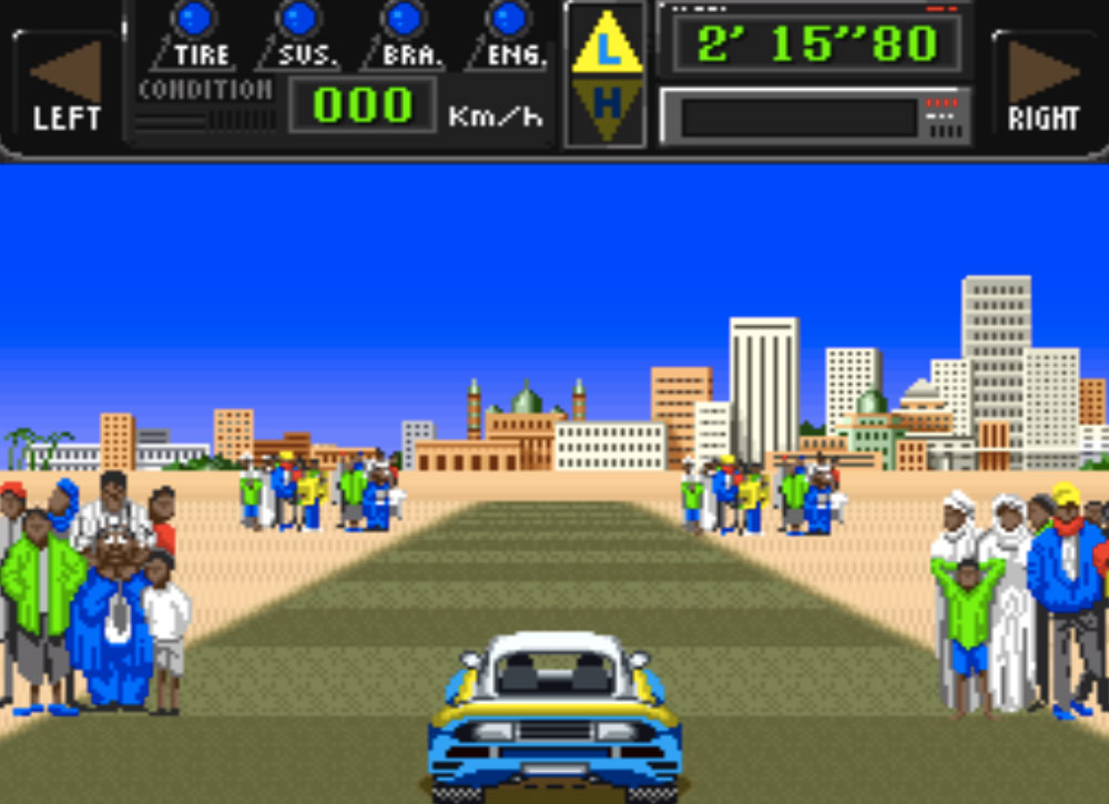 game snes hay phần 16 Jaleco Rally