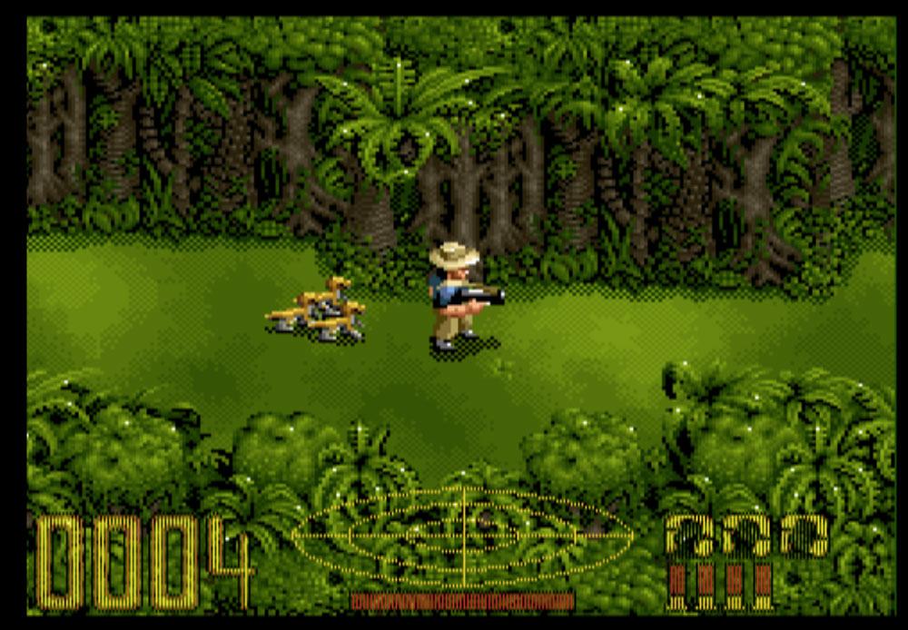 game snes hay phần 16 Jurassic Park