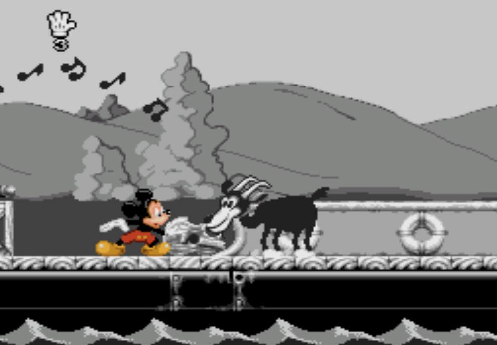 game SNES hay phần 21 Mickey Mania