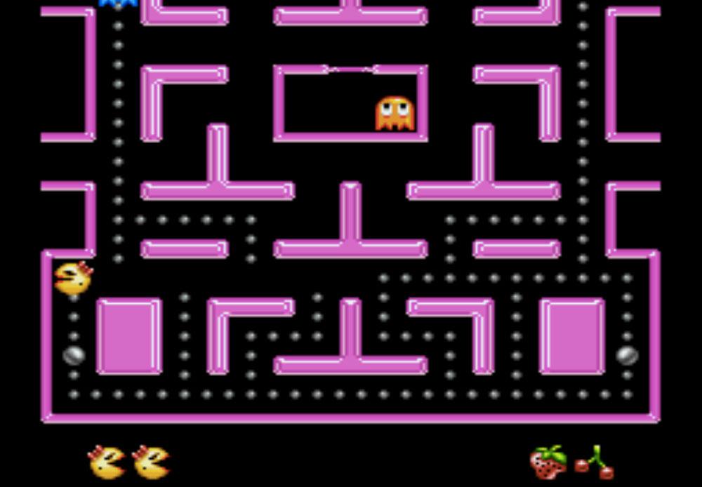 game SNES hay phần 21 Ms. Pac-Man