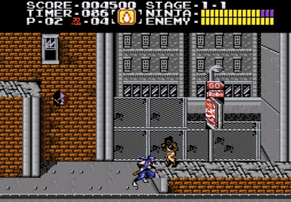 Ninja Gaiden Trilogy game SNES hay phần 22