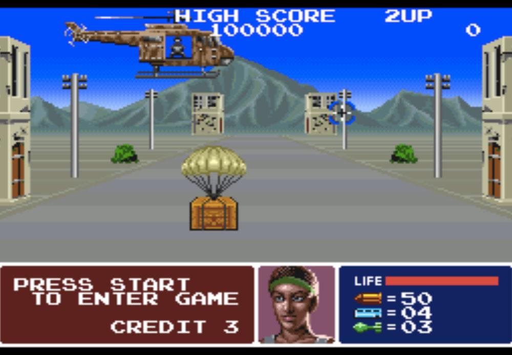game SNES hay phần 22 Operation Thunderbolt