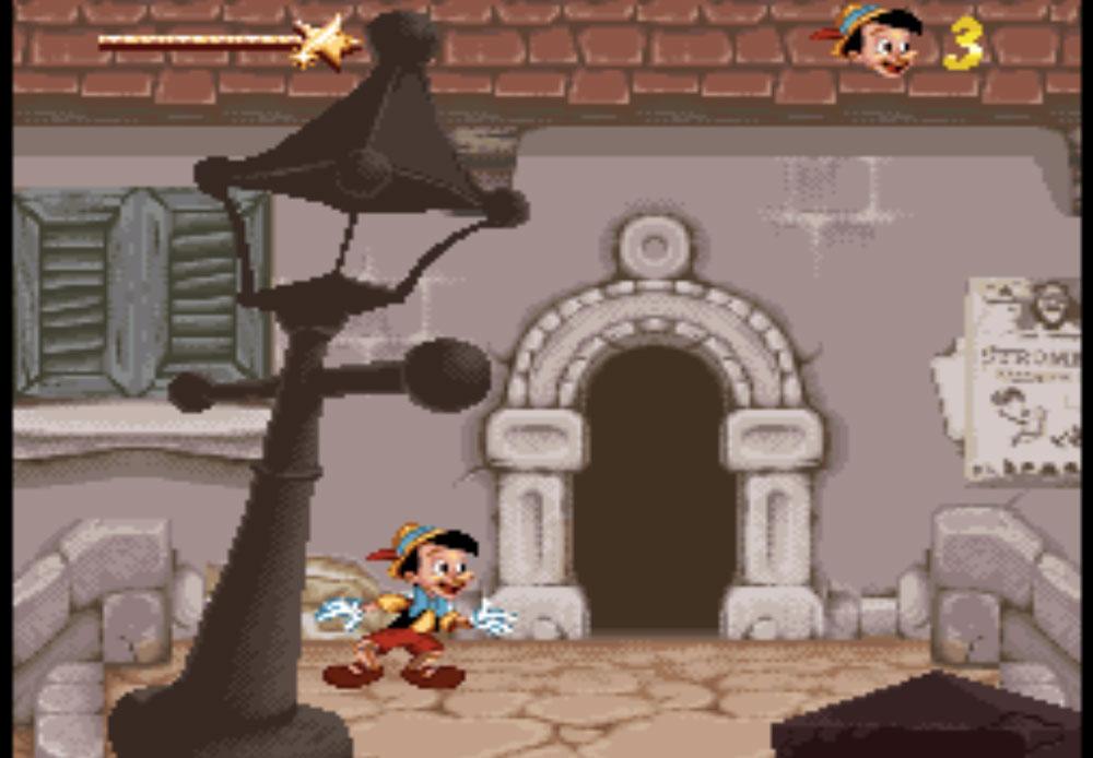 Pinocchio game SNES hay phần 23