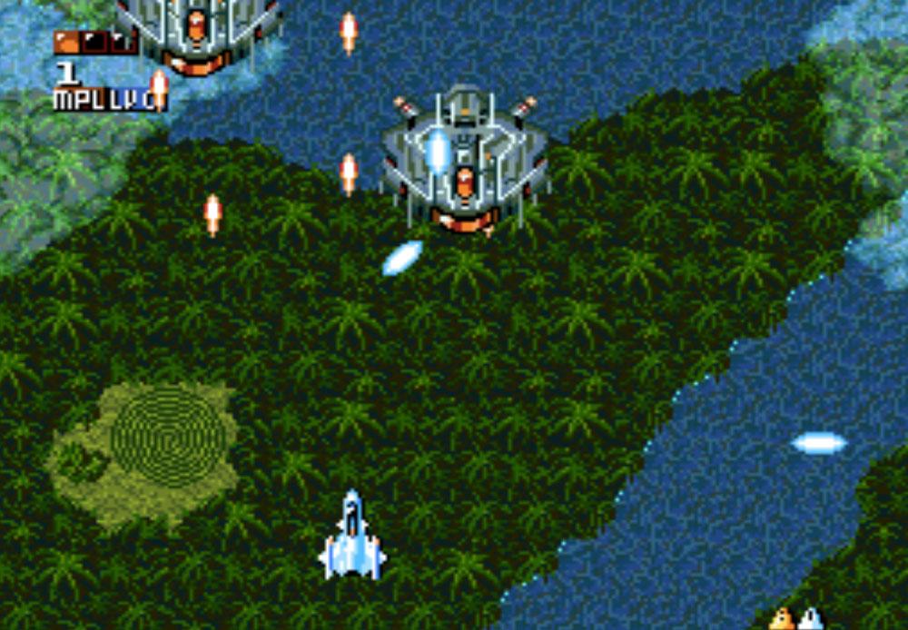 Space Megaforce game SNES hay phần 27