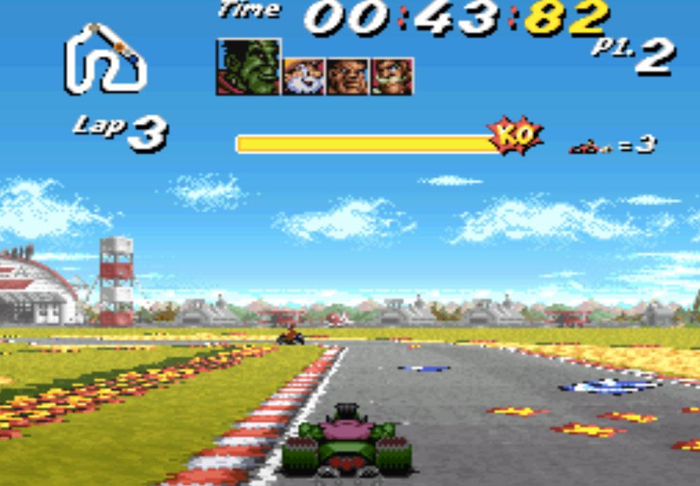 Street Racer game SNES hay phần 28