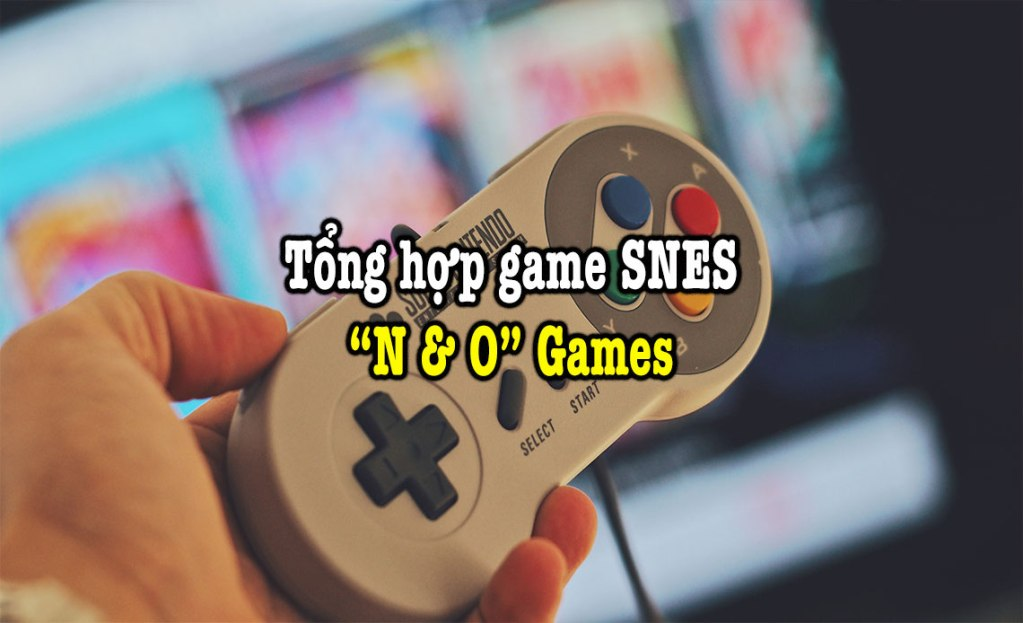 game SNES hay phần 22
