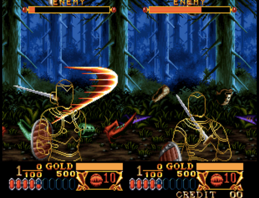 Crossed Swords Neo Geo Games P1