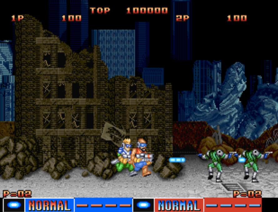 Cyber-Lip Neo Geo Games P1
