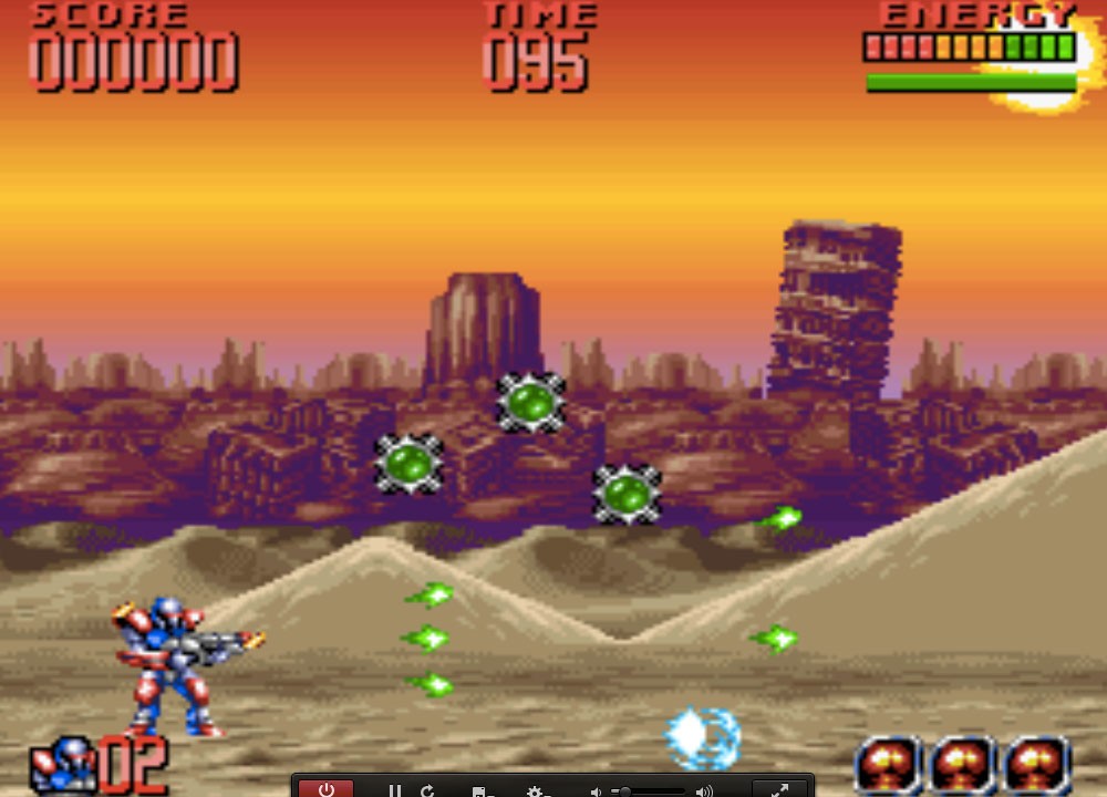 Super Turrican 2 game SNES hay phần 31