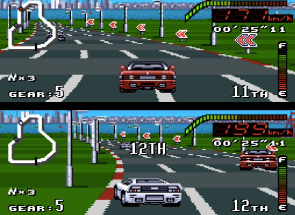 Top Gear game SNES hay phần 32