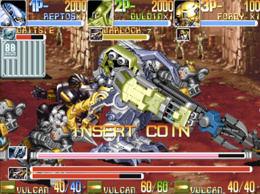 Armored Warriors MAME Games P2