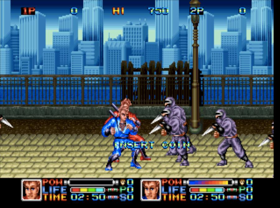Ninja Combat Neo Geo Games P2