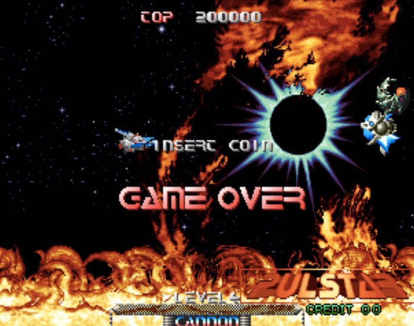 Pulstar Neo Geo Games P3
