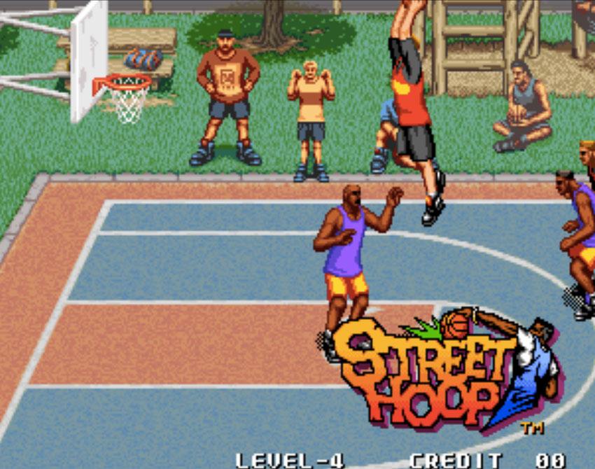 Street Hoop Neo Geo Games P4