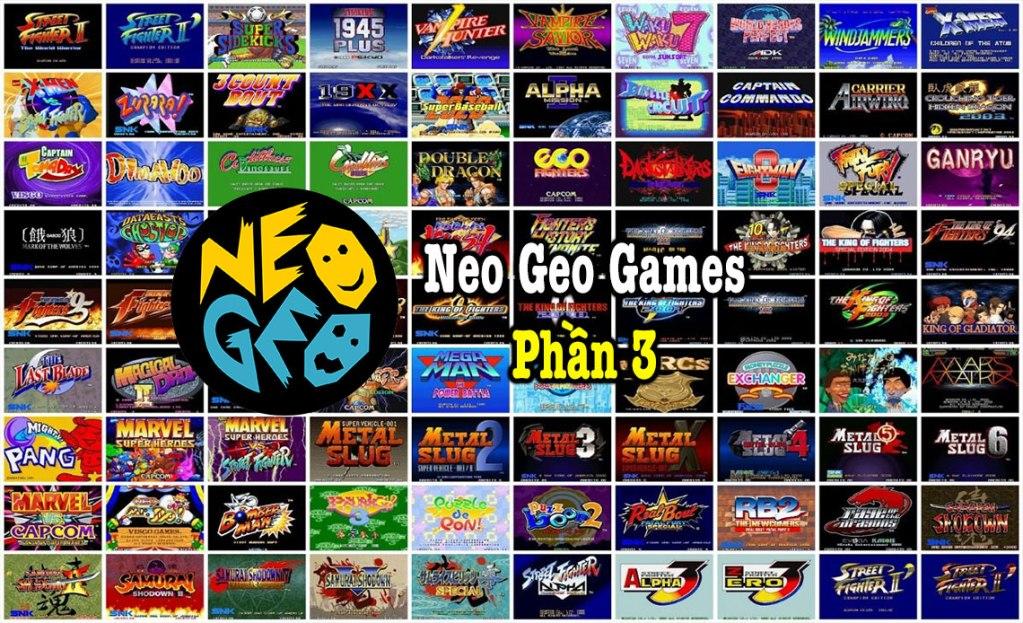 Neo Geo Games P3