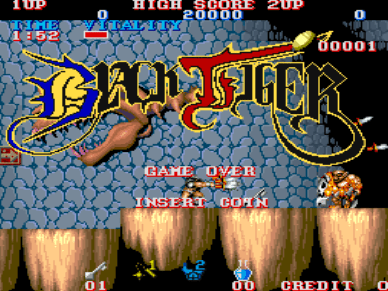 Black Tiger MAME Games P3