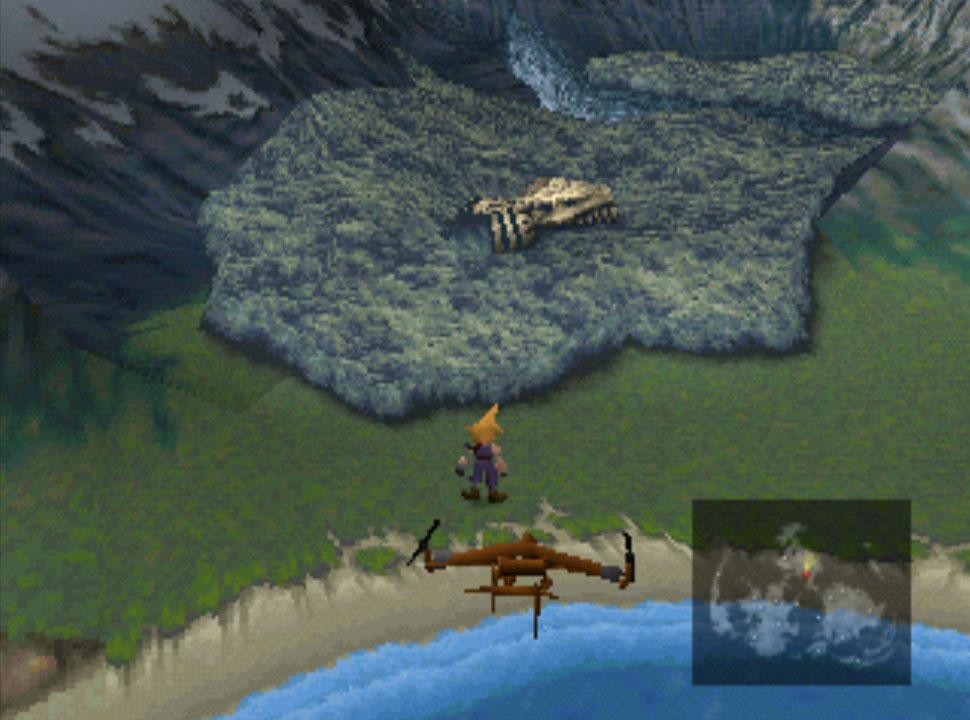 Final Fantasy VII Bone Village