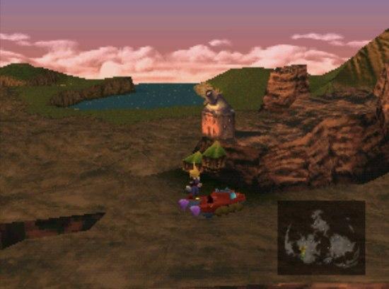 Final Fantasy VII Cosmo Canyon