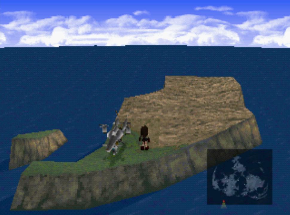 Final Fantasy VII Cactus Island