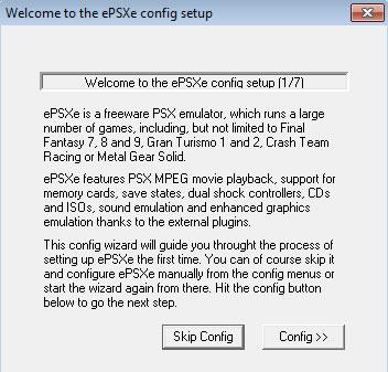 ePSXe config