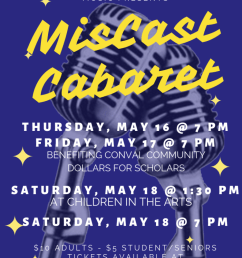 miscast cabaret is directed by krystal morin brian moore and elizabeth moore [ 791 x 1024 Pixel ]