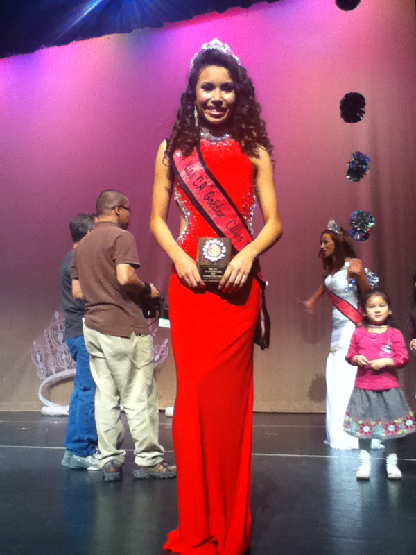 Sophomore Shania Shanks wins beauty pageant