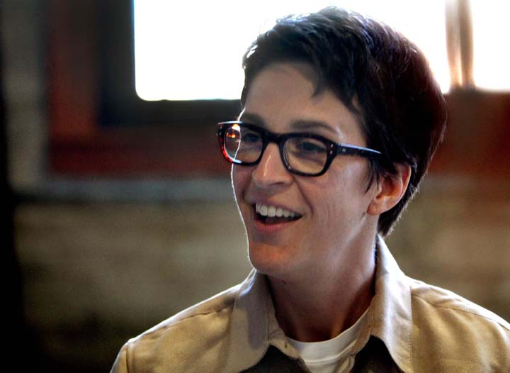 Rachel Maddow meets The Olympian