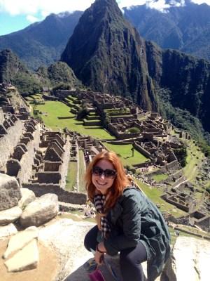 Lauren at Machu Pichu
