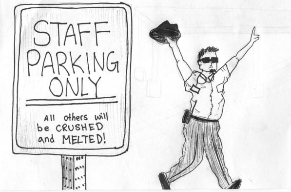Parking Cartoon
