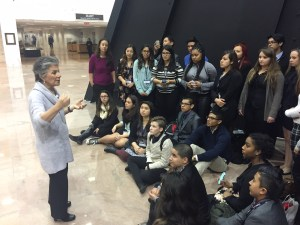 Senator Barbara Boxer discussed obesity, the cost of higher education and marijuana with the group.