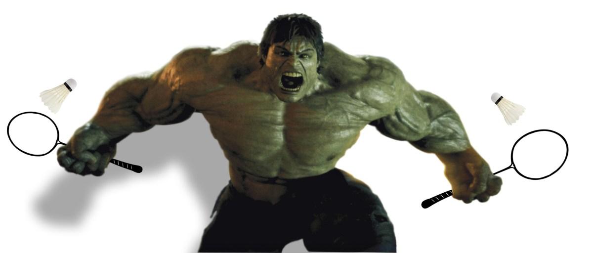 Hulks smash badminton birdies
