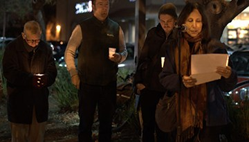 Vigil honors murder victims